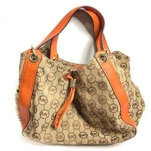 Michael Kors Ludlow Monogram Shoulder Bag